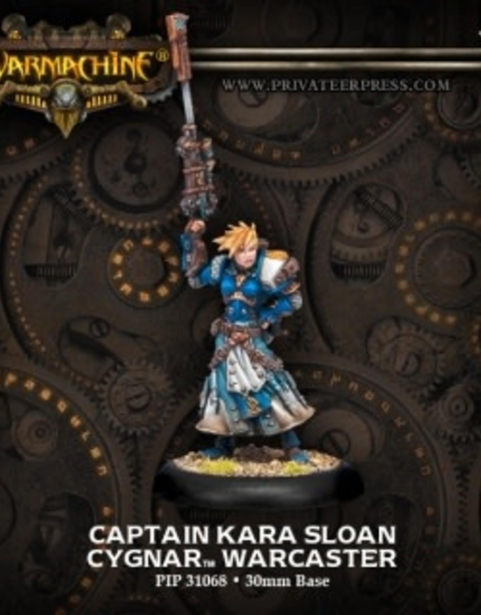 Warmachine Cygnar - Kara Sloan