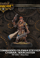 Warmachine Cygnar - Cmdr Coleman Stryker