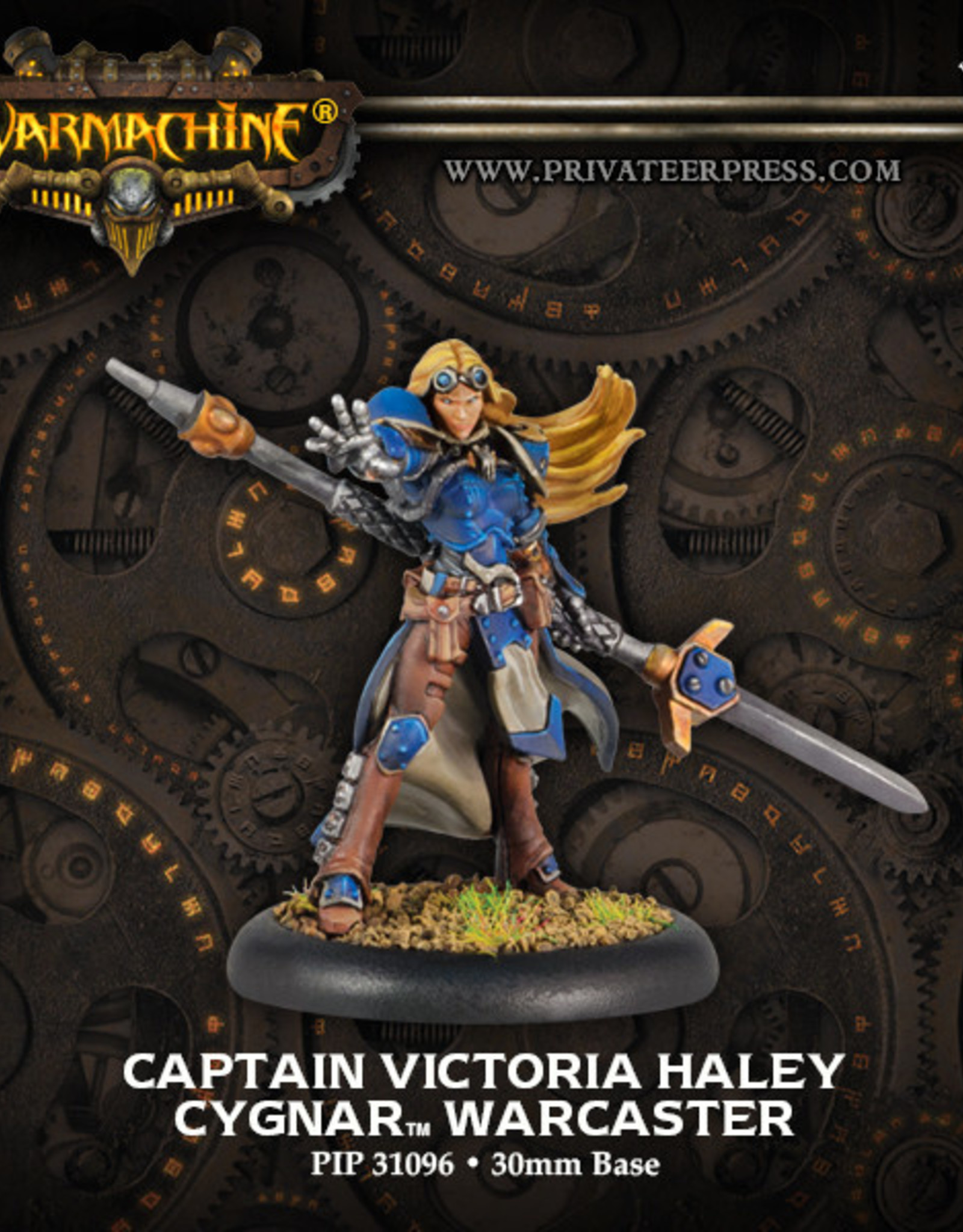 Warmachine Cygnar - Cpt Victoria Haley (r)