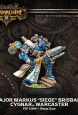 Warmachine Cygnar - Major Markus Brisbane