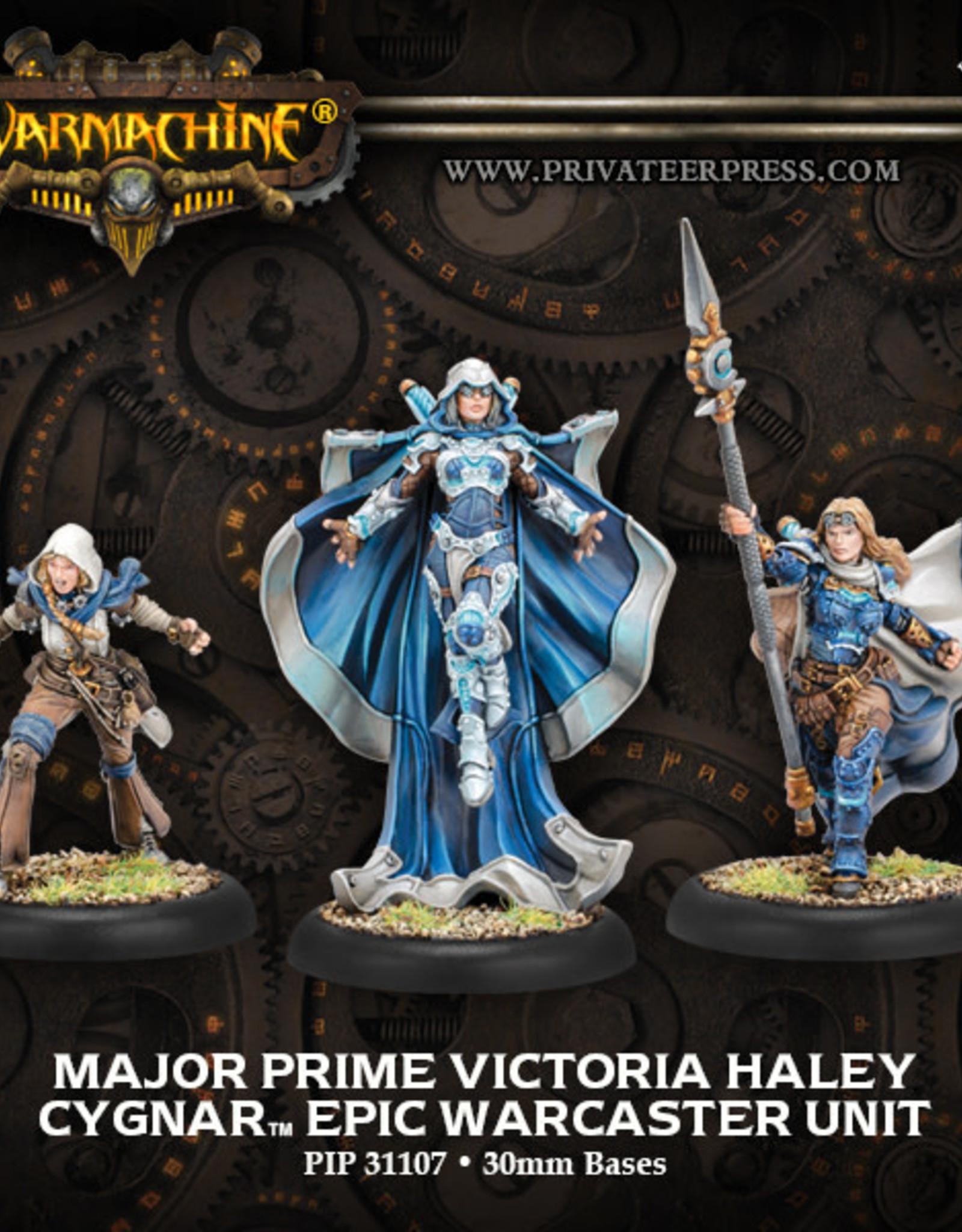 Warmachine Cygnar - Major Prime Haley