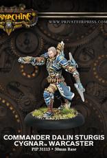 Warmachine Cygnar - Commander Dalin Sturgis