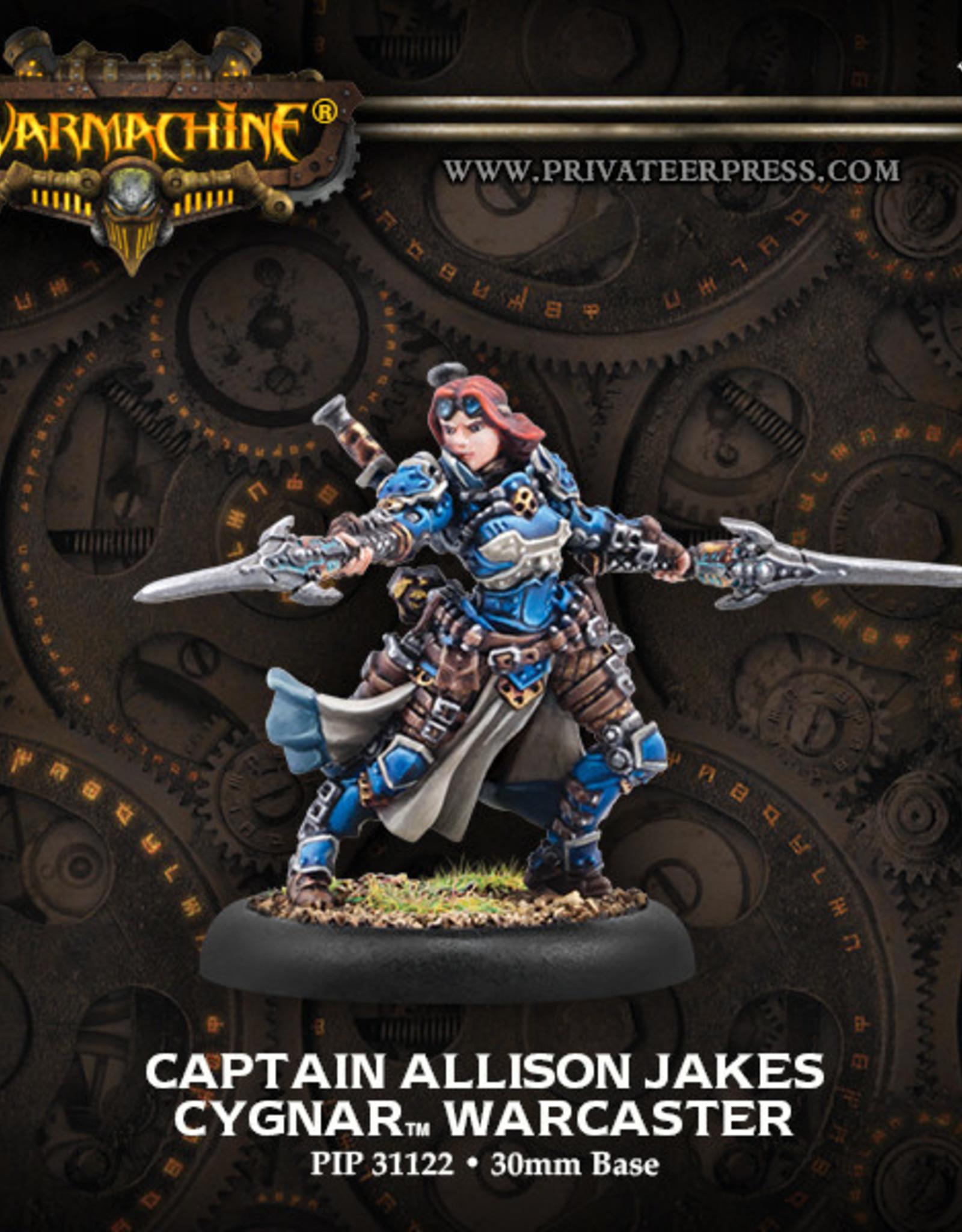 Warmachine Cygnar - Allison Jakes (R)