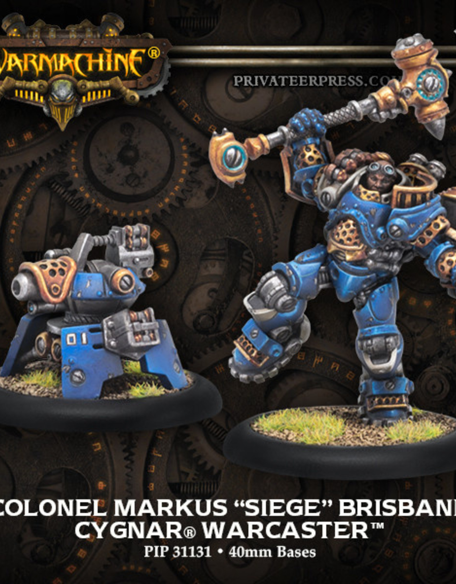 Warmachine Cygnar - Colonel Markus