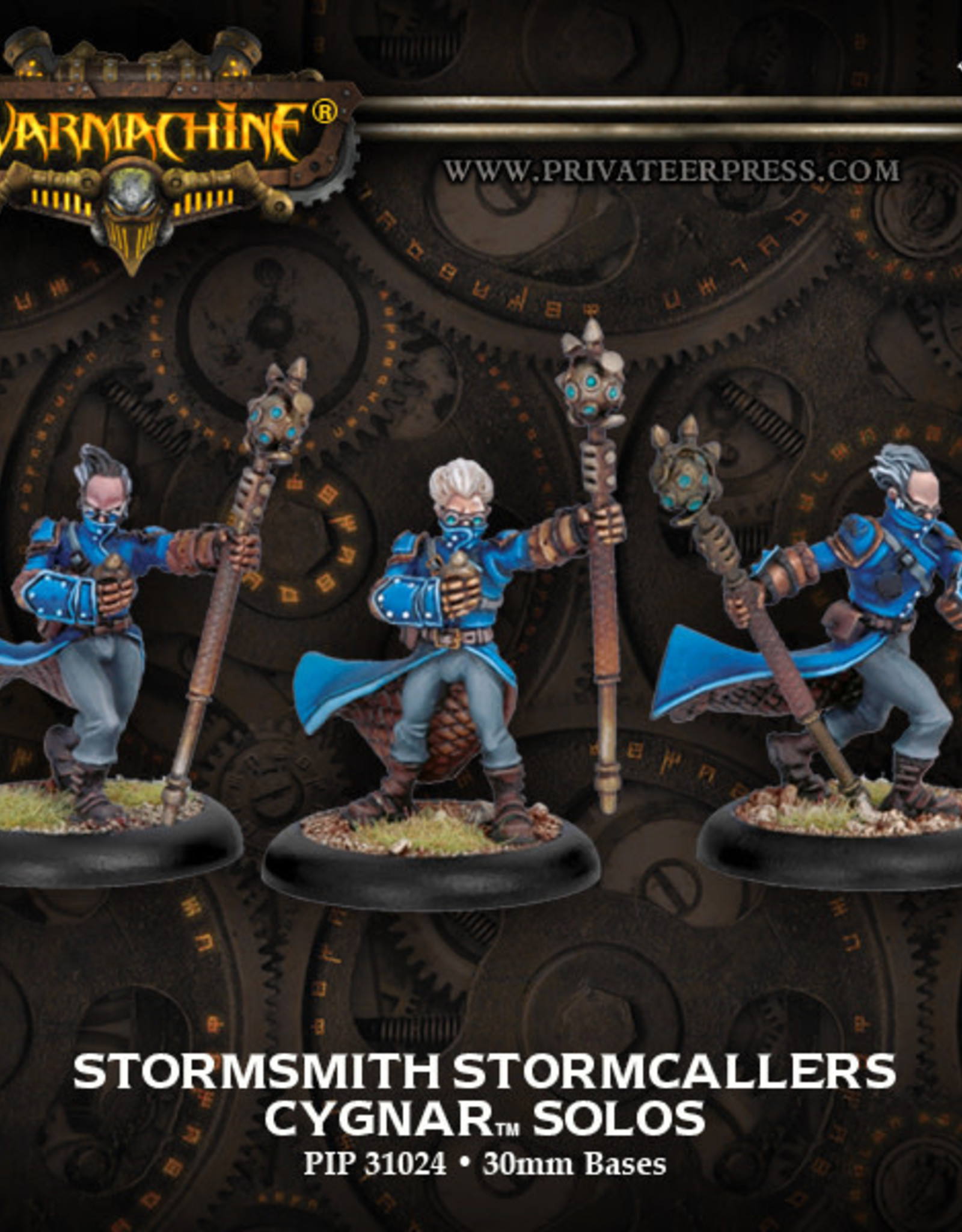 Warmachine Cygnar - Stormsmiths (3)