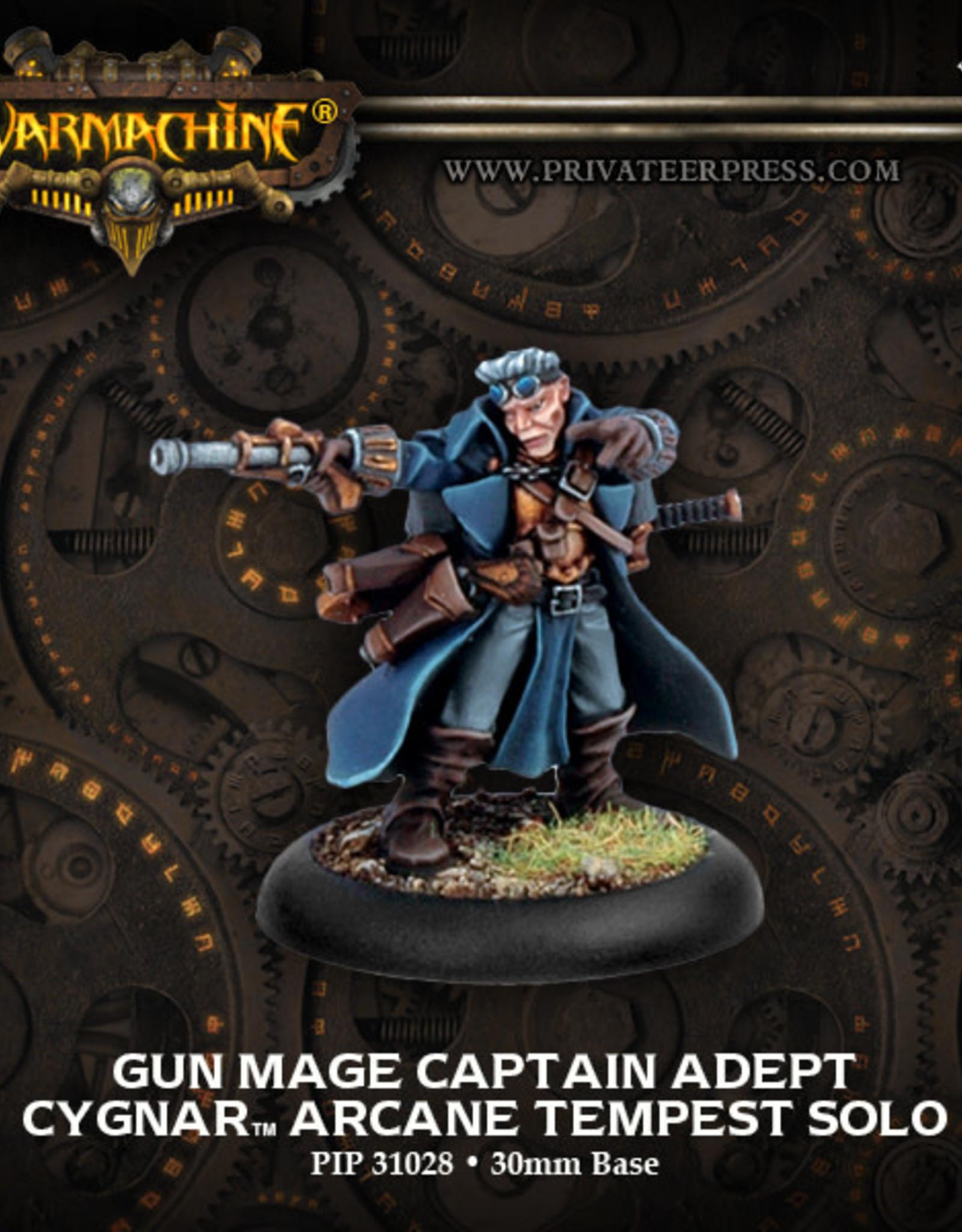 Warmachine Cygnar - Gun Mage Adept