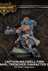 Warmachine Cygnar - Cpt. Maxwell Finn