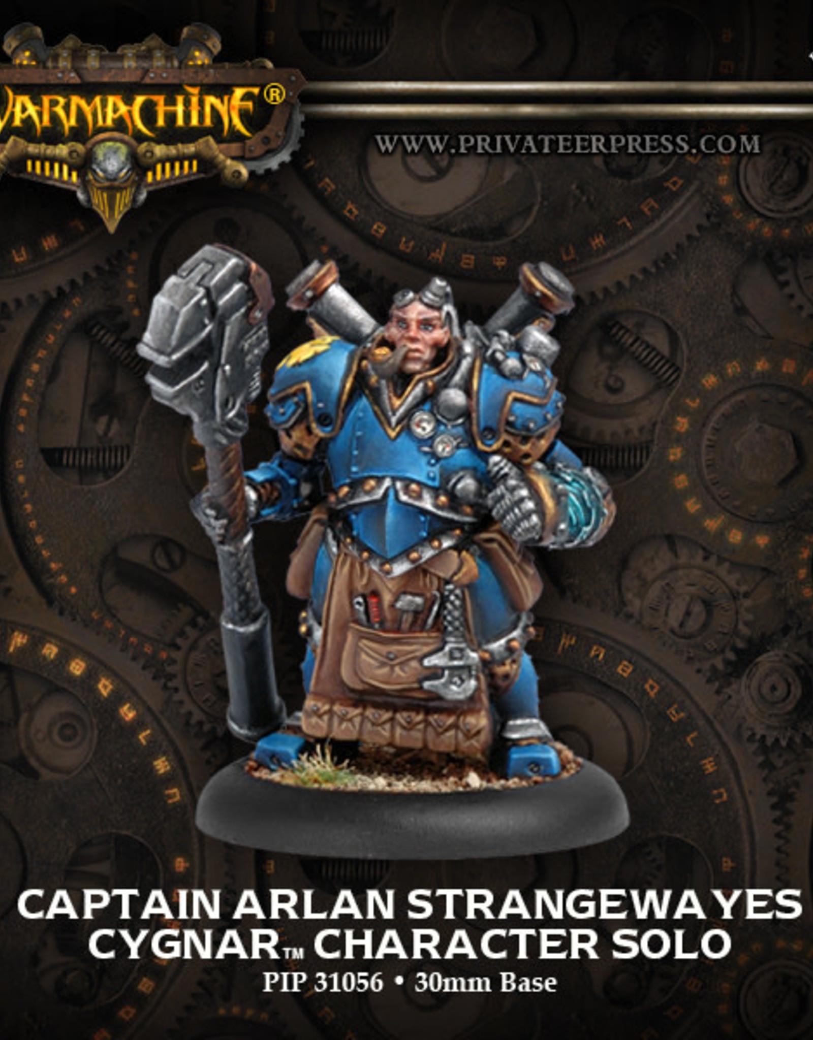 Warmachine Cygnar - Arlan Strangewayes