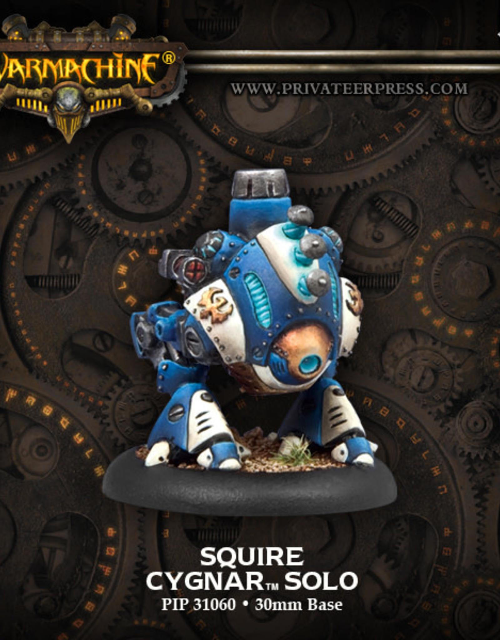Warmachine Cygnar - Squire