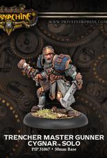 Warmachine Cygnar - Trencher Master Gunner