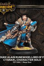 Warmachine Cygnar - Archduke Runewood
