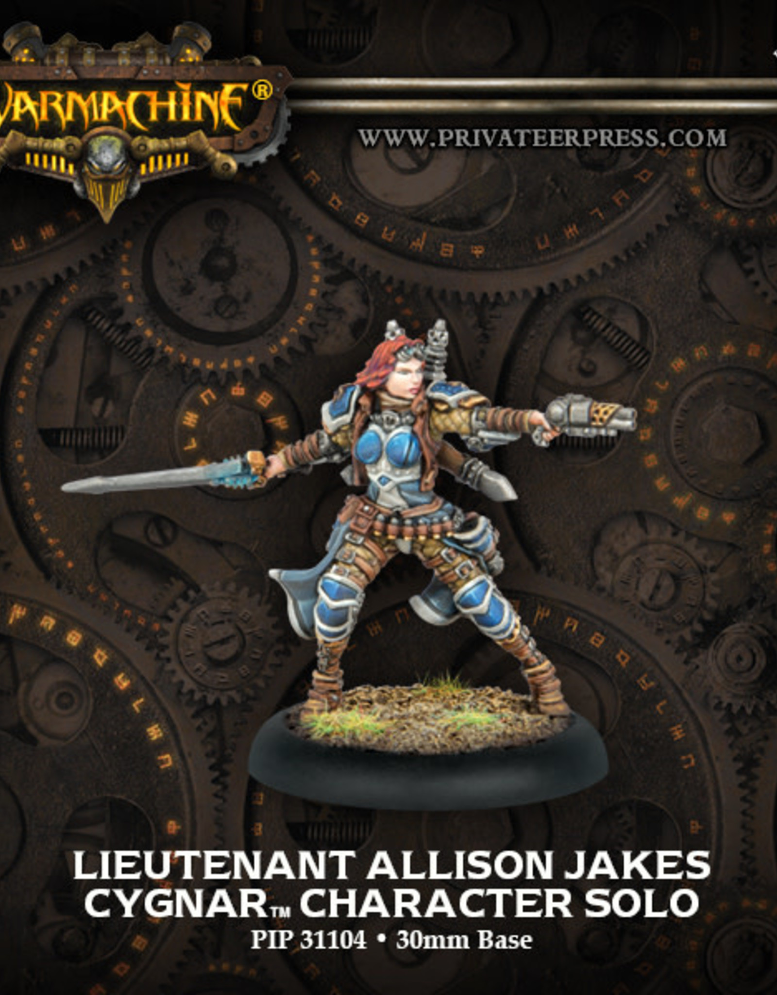 Warmachine Cygnar - Allison Jakes