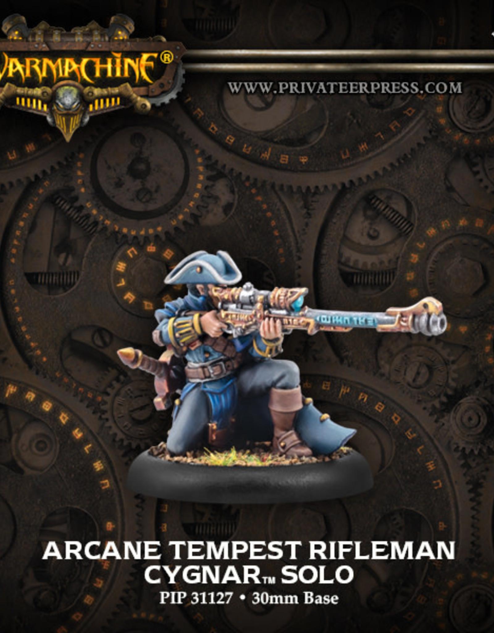 Warmachine Cygnar - Arcane Tempest Rifle
