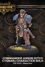 Warmachine Cygnar - Commander Anson Hitch