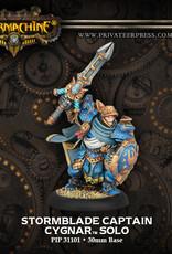 Warmachine Cygnar - Stormblade Captain