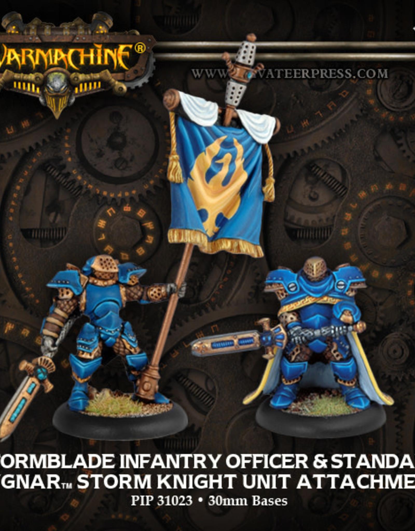 Warmachine Cygnar - Storm Blade lieutenant