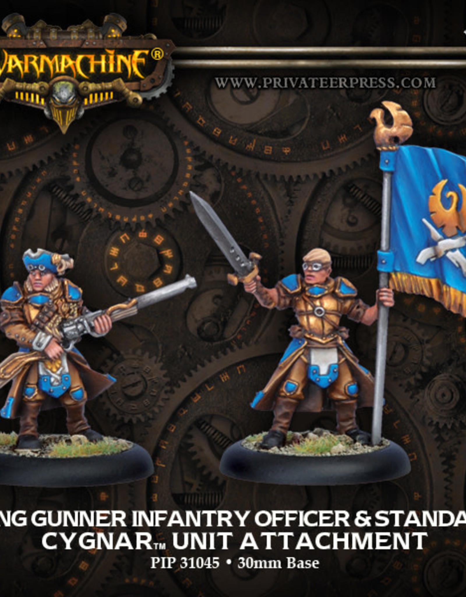 Warmachine Cygnar - Long Gunner Attachment