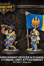 Warmachine Cygnar - Sword Night Major/ std