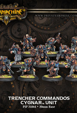 Warmachine Cygnar - Trencher Commandos