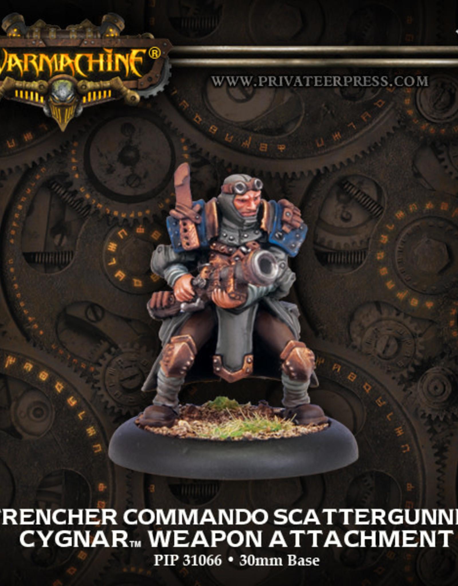 Warmachine Cygnar - Trencher Commando Scatterguner
