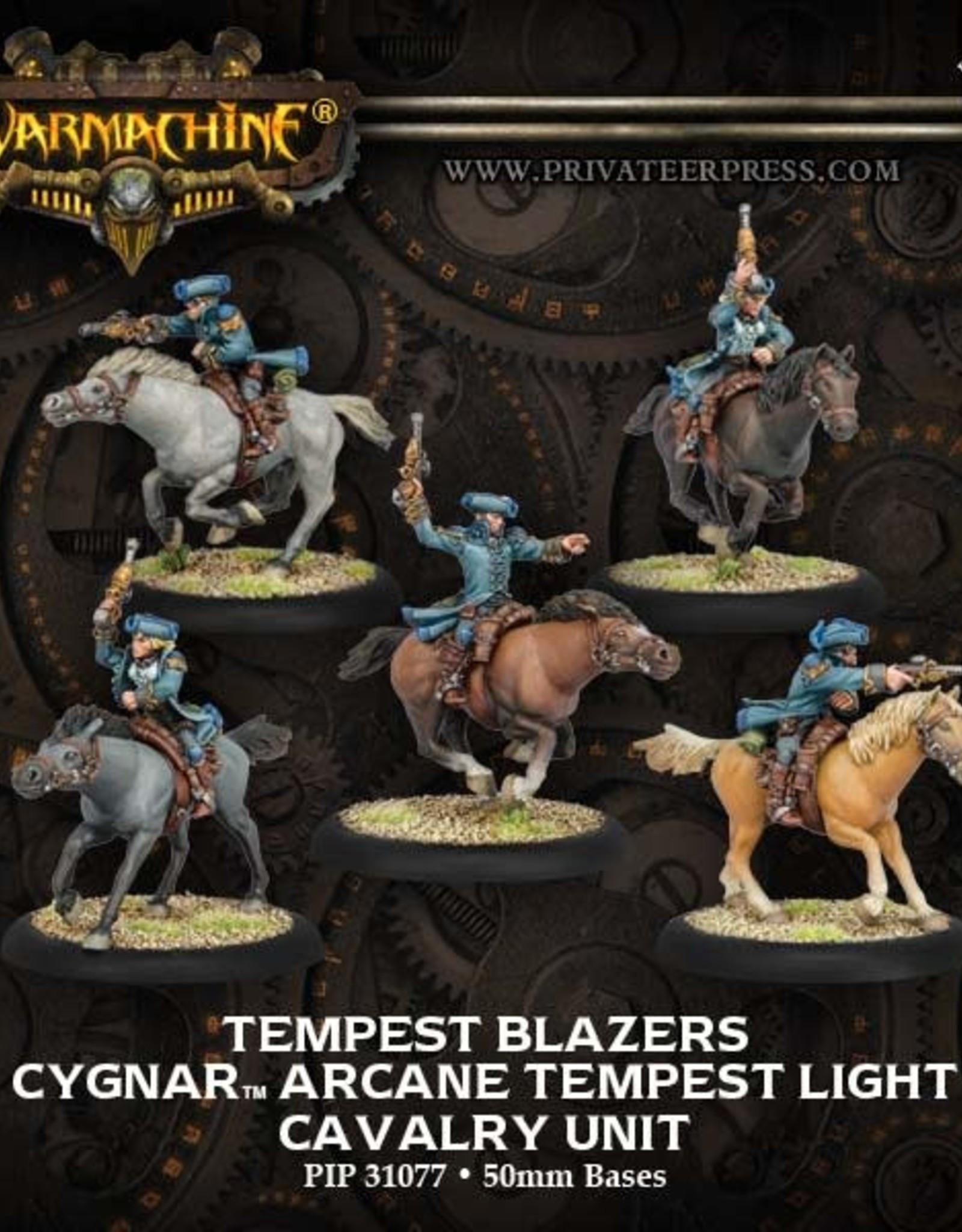 Warmachine Cygnar - Tempest Blazers