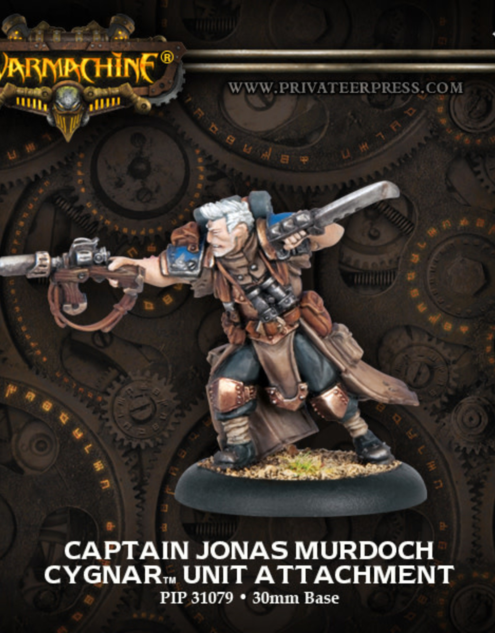 Warmachine Cygnar - Jonas Murdoch
