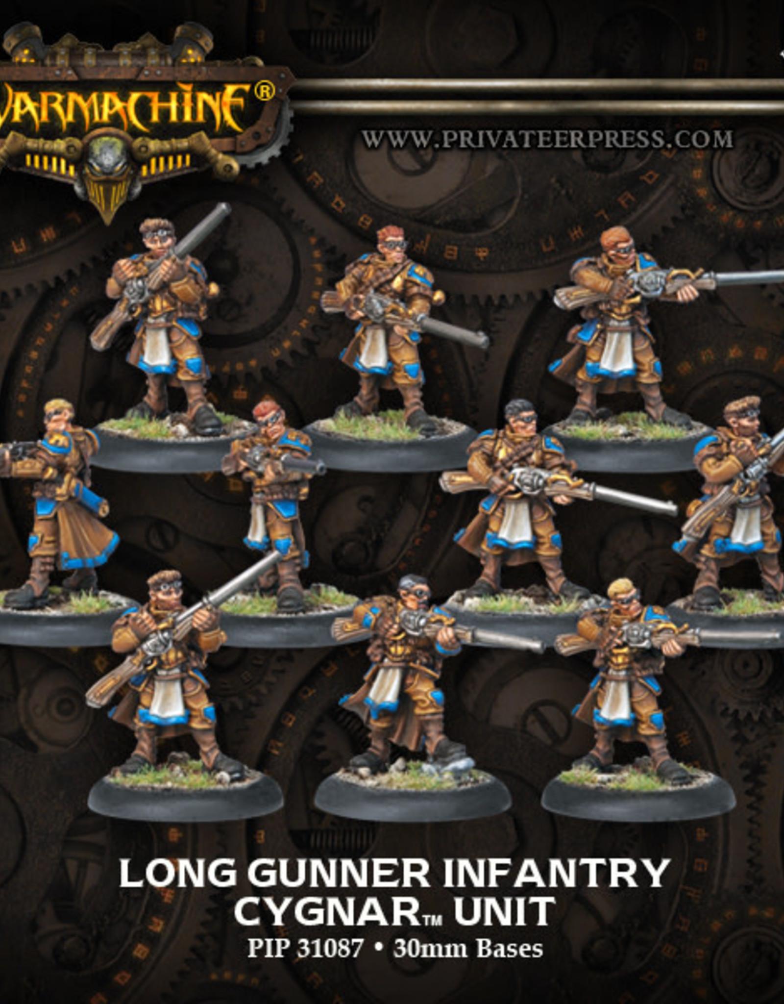 Warmachine Cygnar - Long Gunner Unit