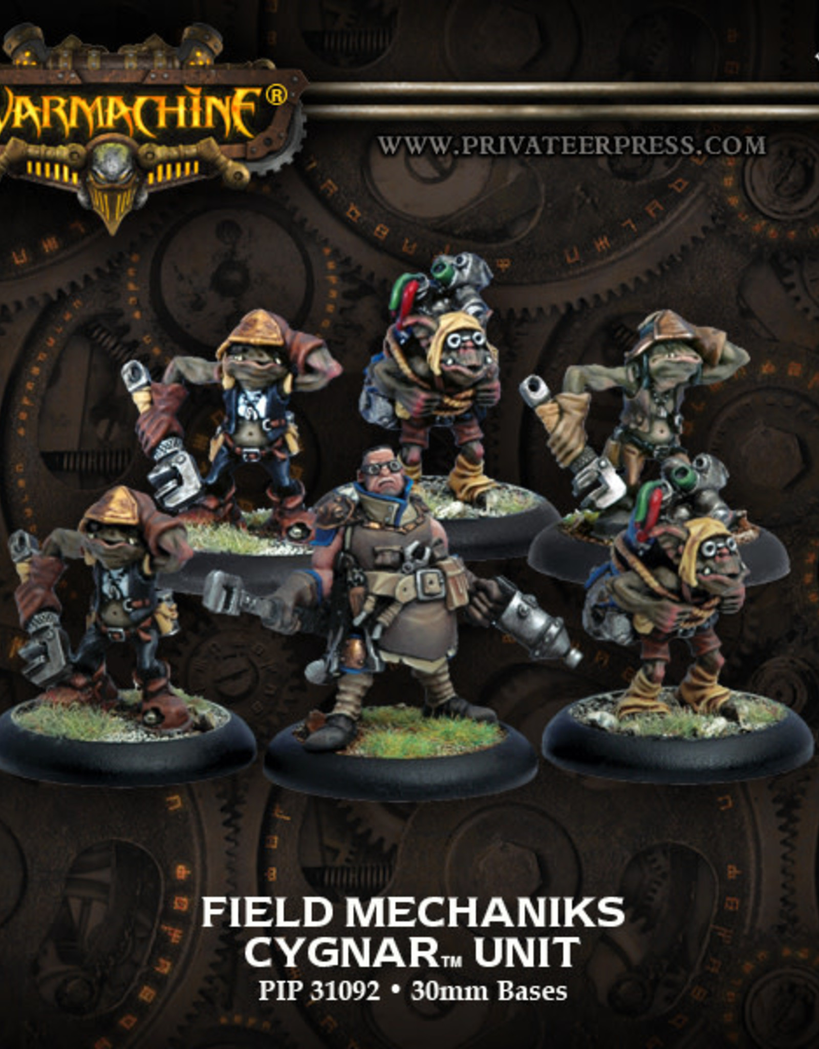 Warmachine Cygnar - Field Mechaniks