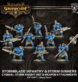 Warmachine Cygnar - Stormblade Infantry