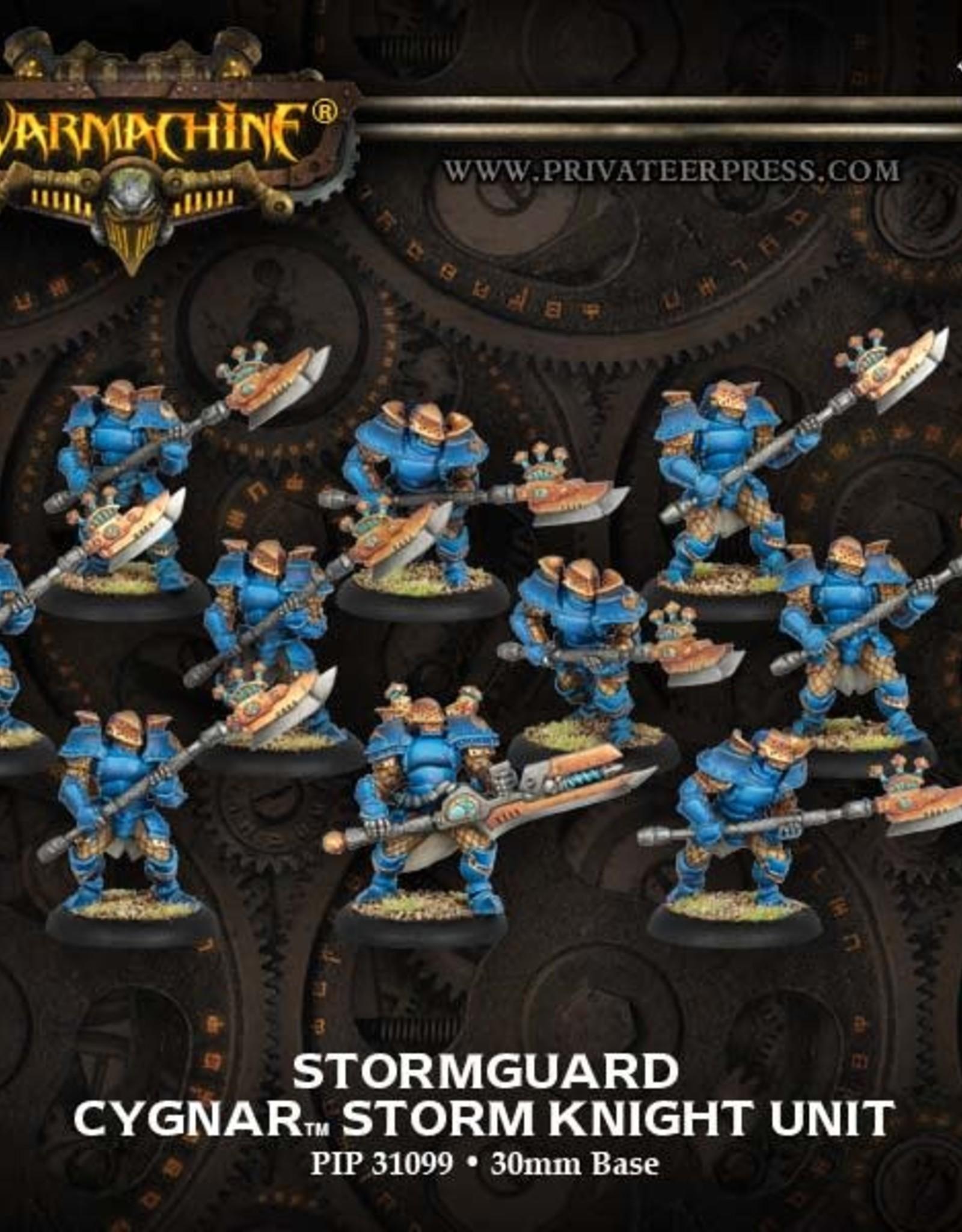 Warmachine Cygnar - Stormguard Storm Kngt