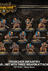 Warmachine Cygnar - Trencher Full Unit