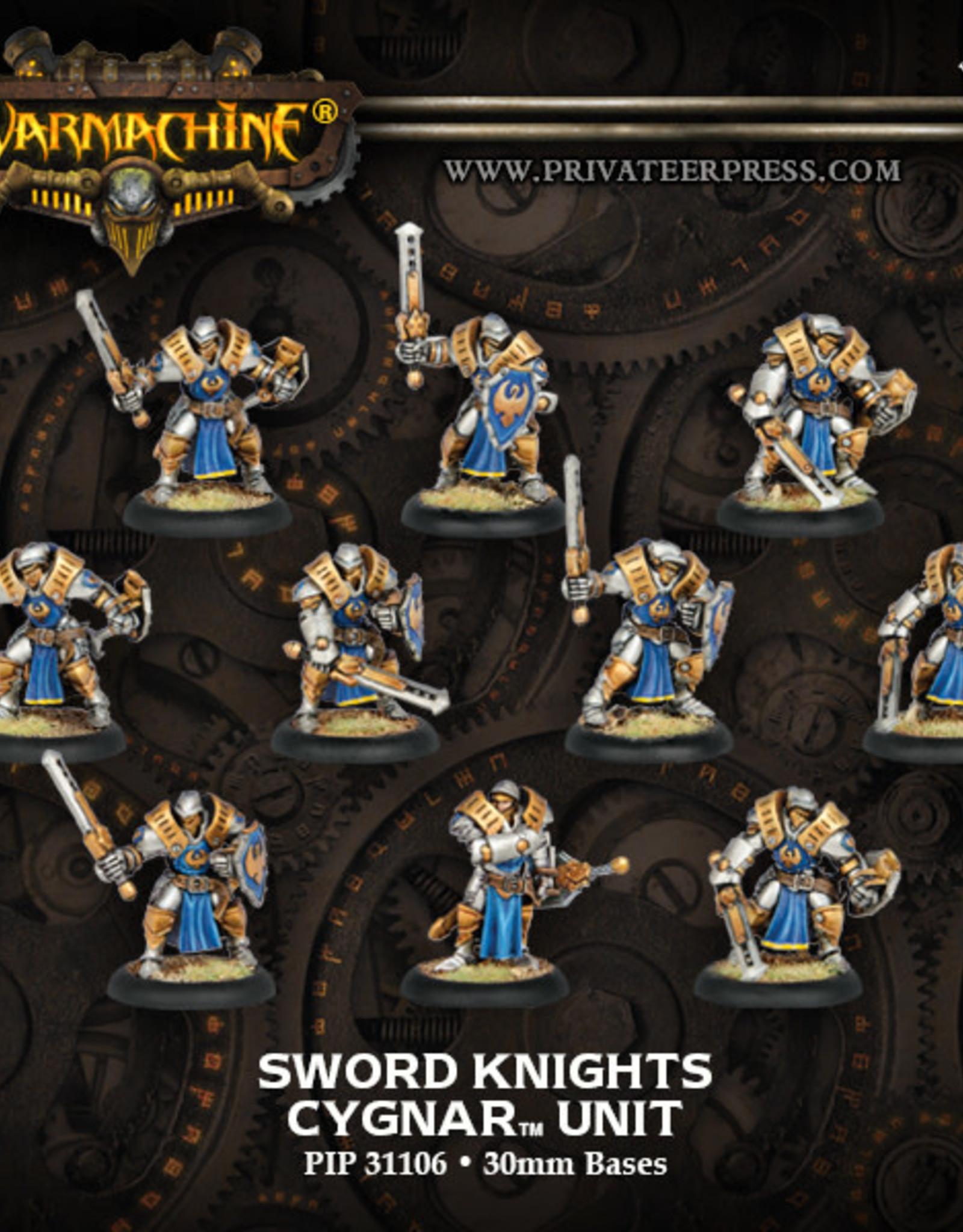 Warmachine Cygnar - Sword Knights Full