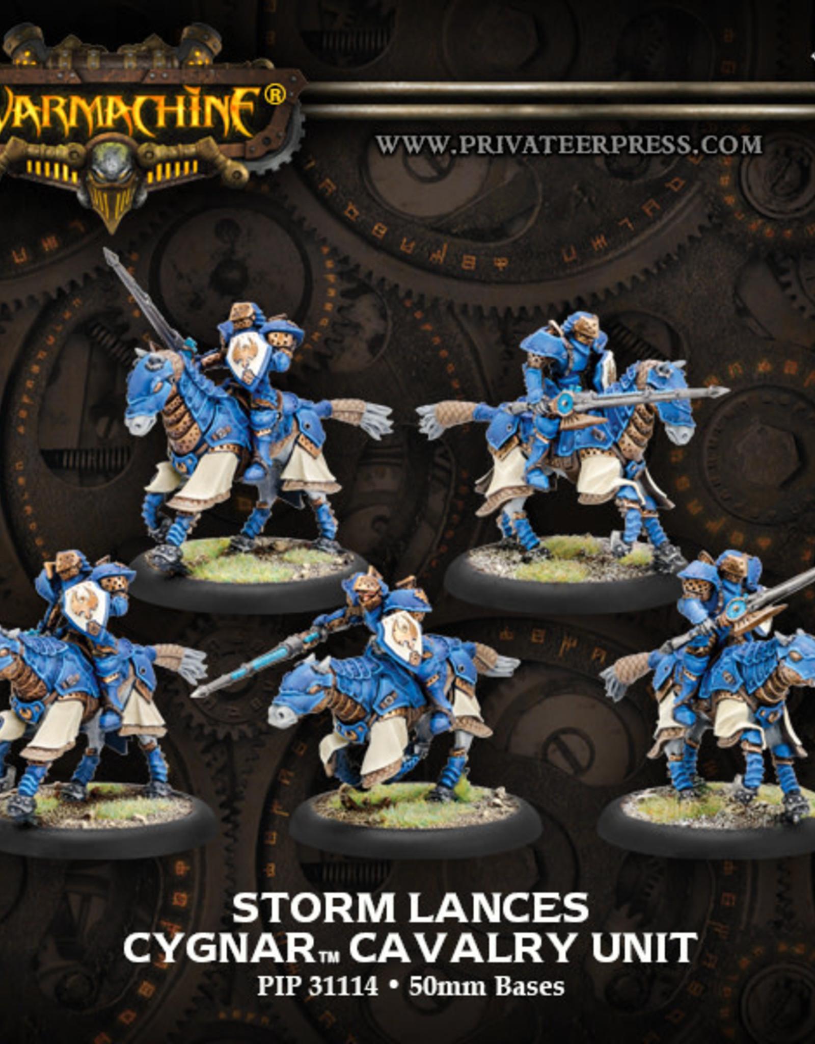 Warmachine Cygnar - Storm Lances
