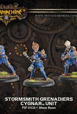 Warmachine Cygnar - Stormsmith Grenadiers