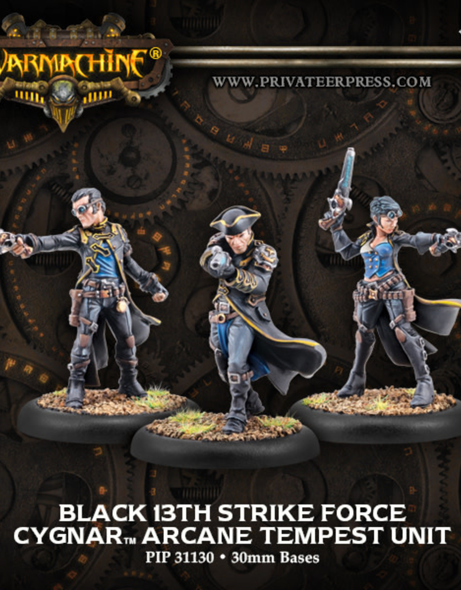Warmachine Cygnar - Black 13th Strike Force