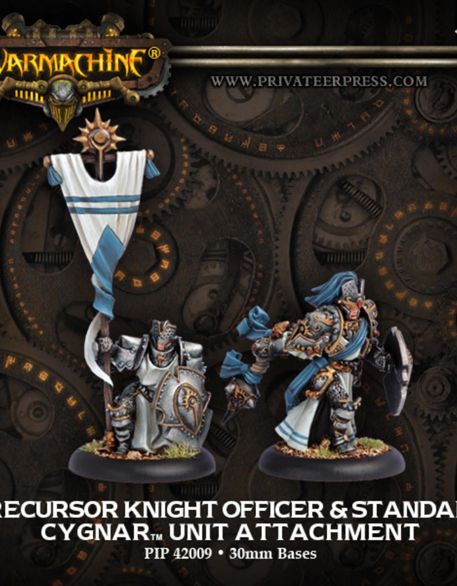 Warmachine Cygnar - Chaplain & Standard