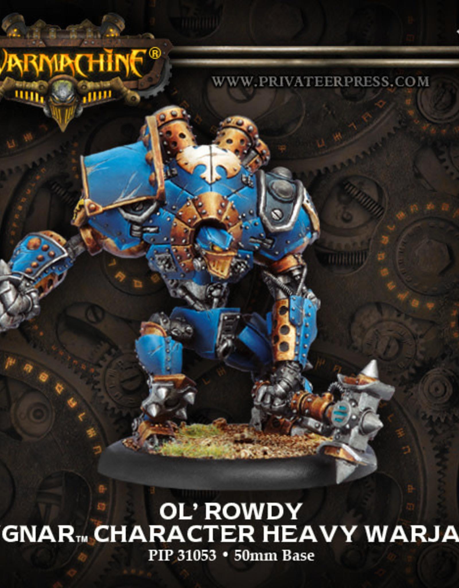 Warmachine Cygnar - Ol' Rowdy