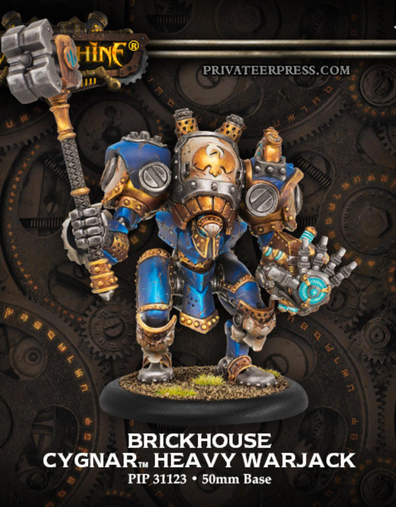 Warmachine Cygnar - Brickhouse
