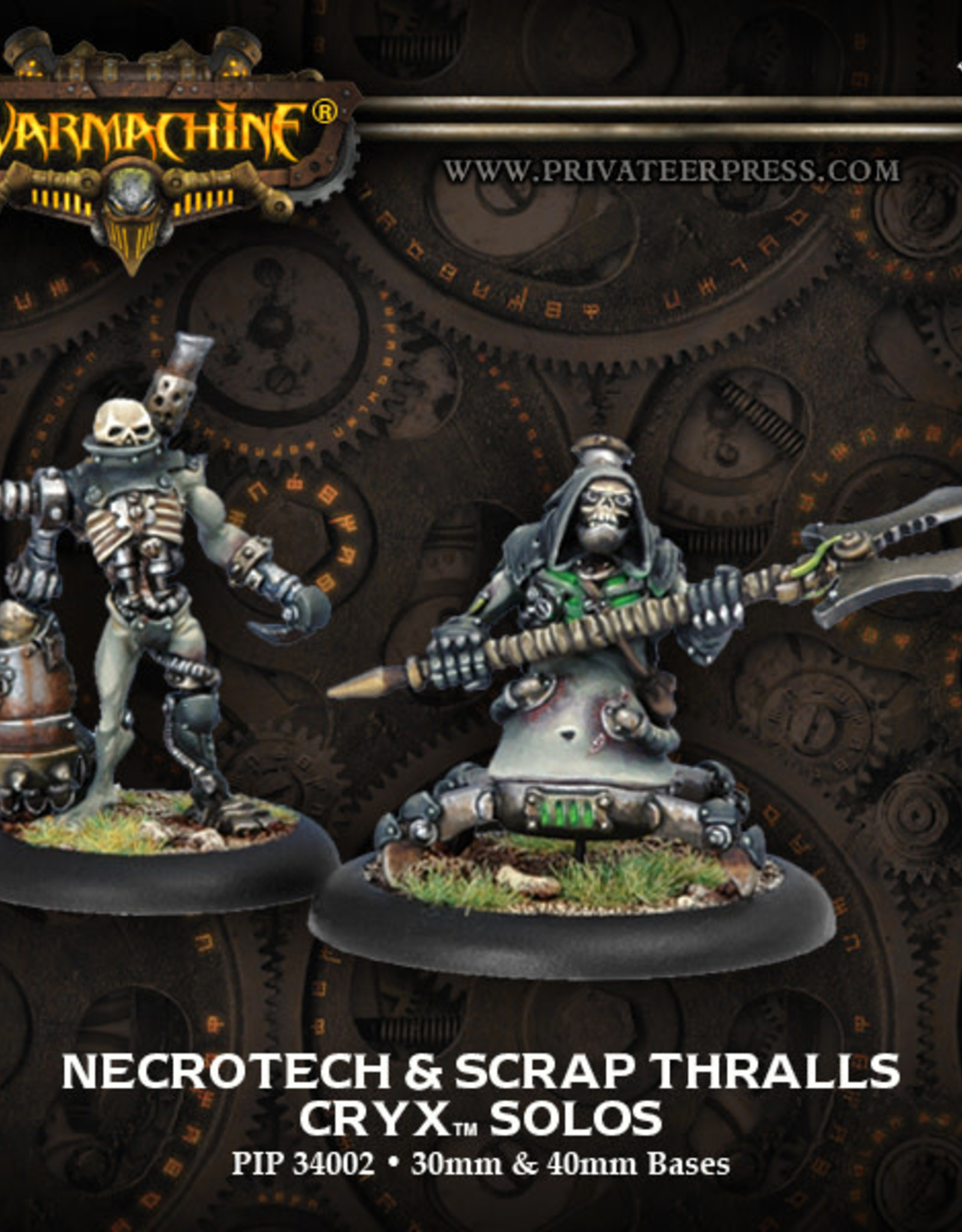 Warmachine Cryx - Necrotech & Thralls