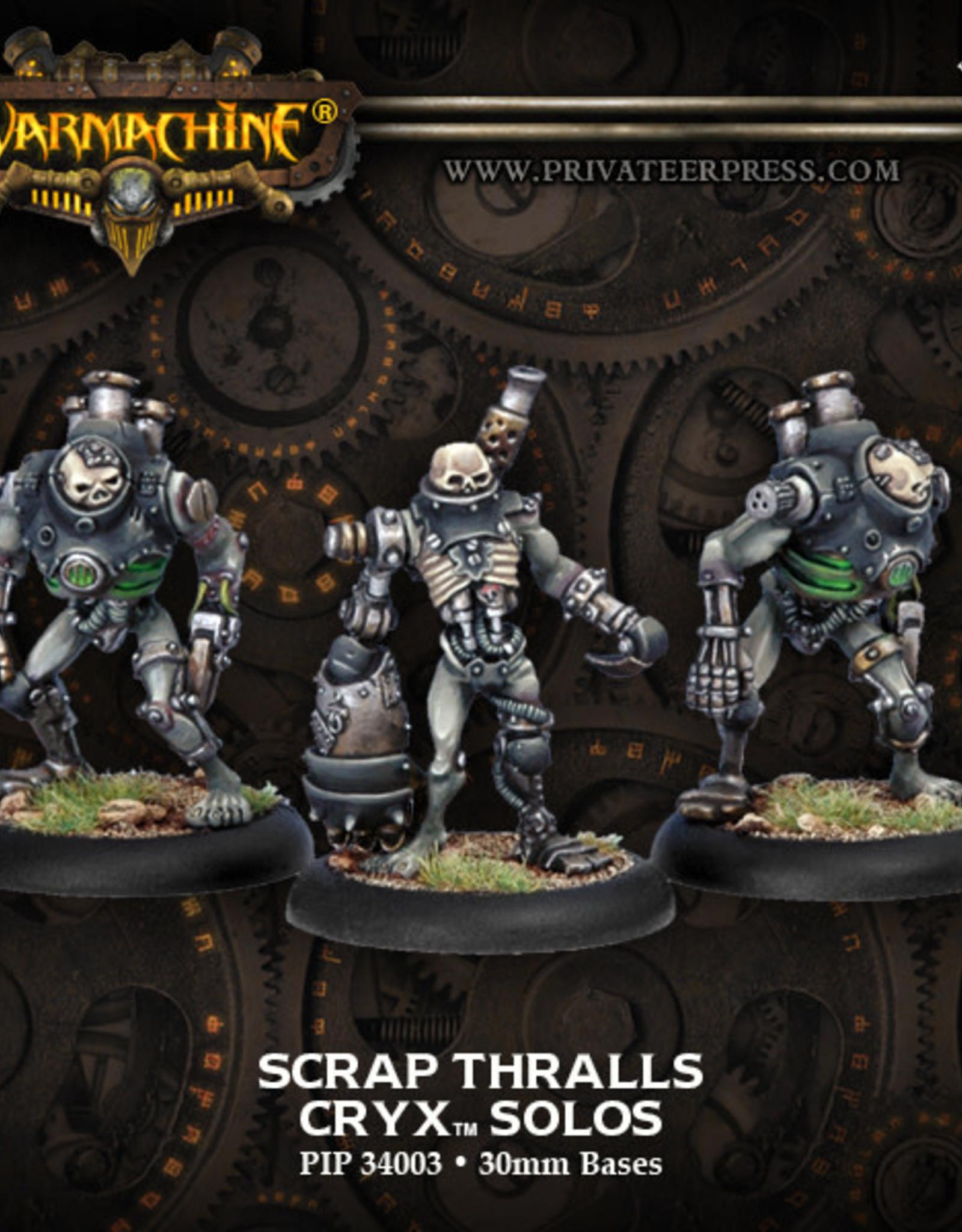 Warmachine Cryx - Scrap Thralls