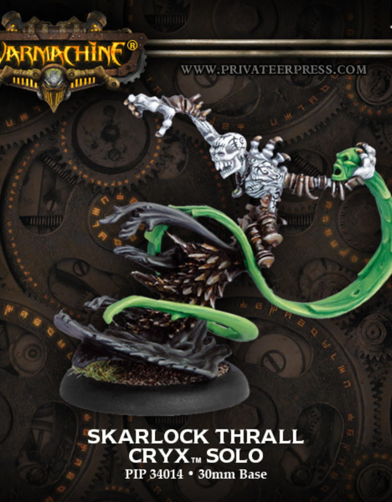 Warmachine Cryx - Skarlock Thrall