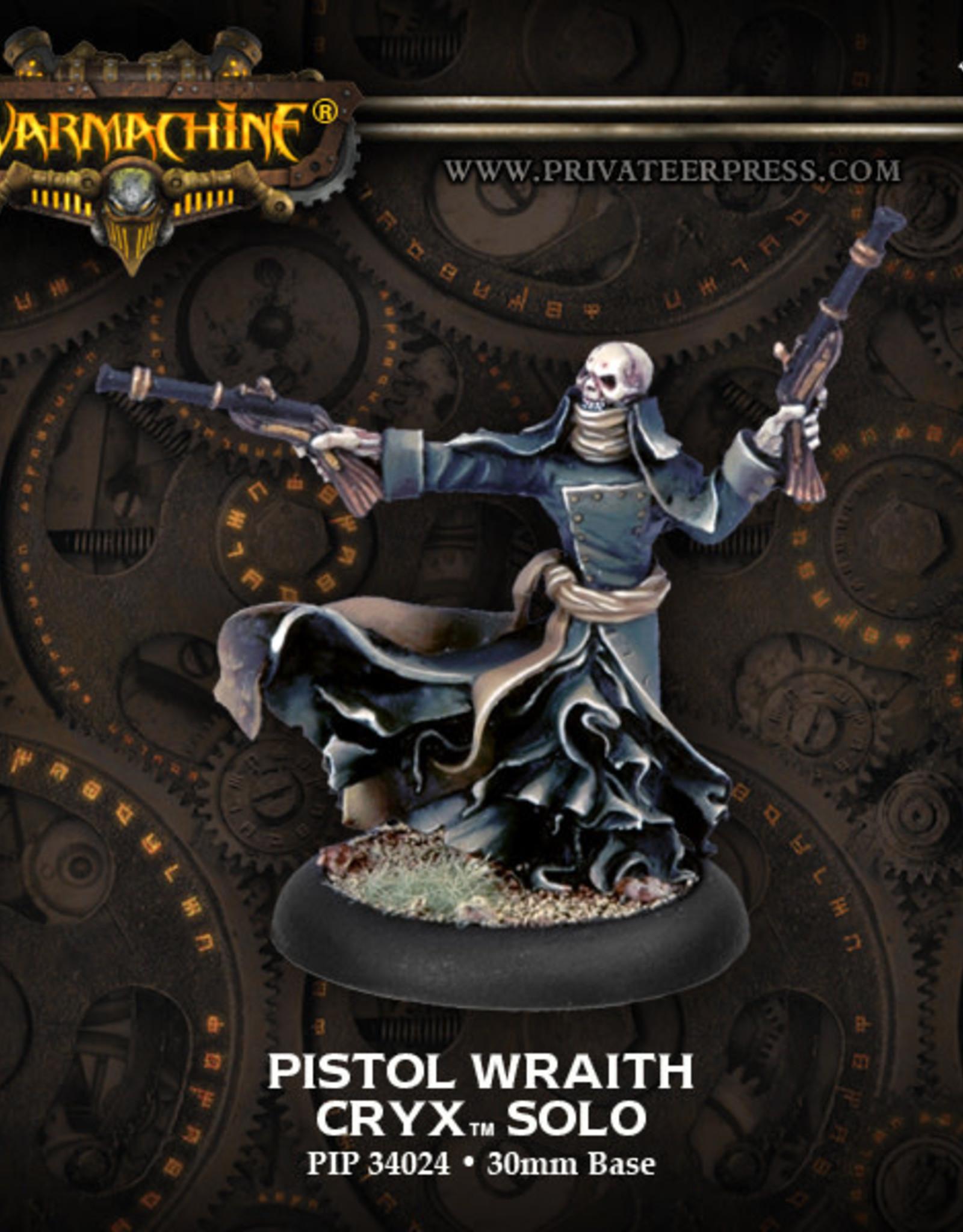 Warmachine Cryx - Pistol Wraith