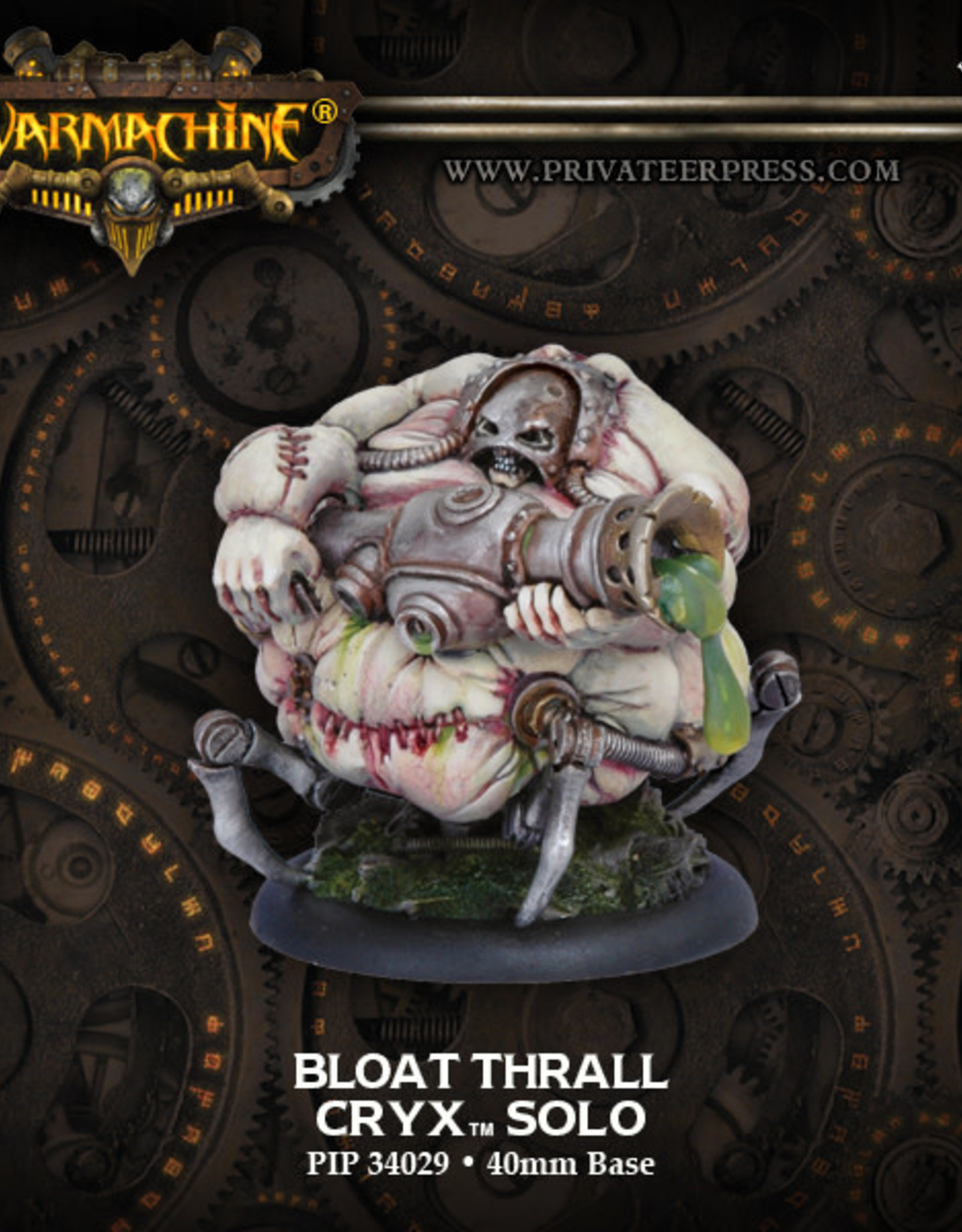 Warmachine Cryx - Bloat Thrall