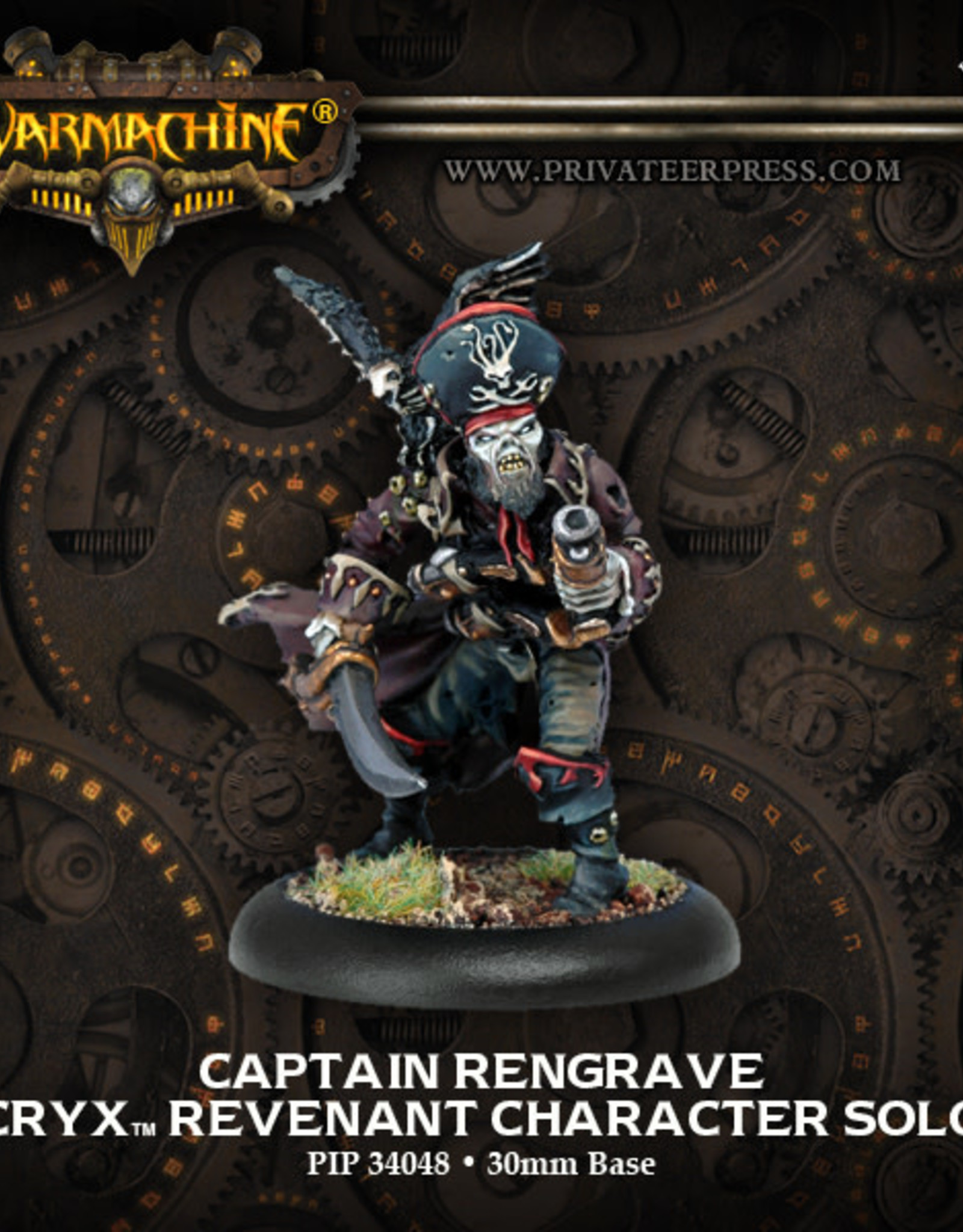 Warmachine Cryx - Captain Rengrave