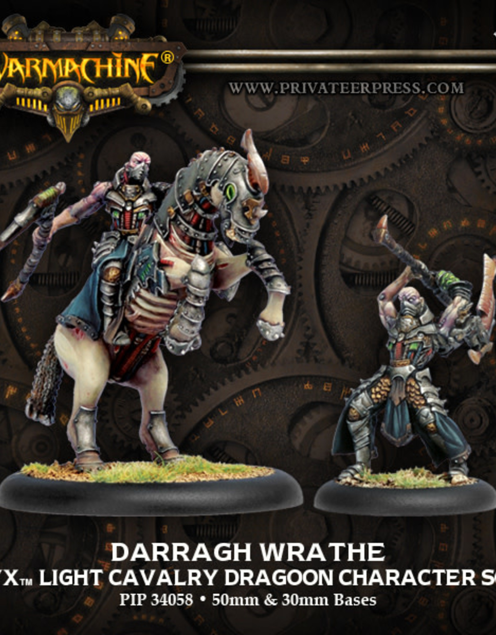 Warmachine Cryx - Darragh Wrathe