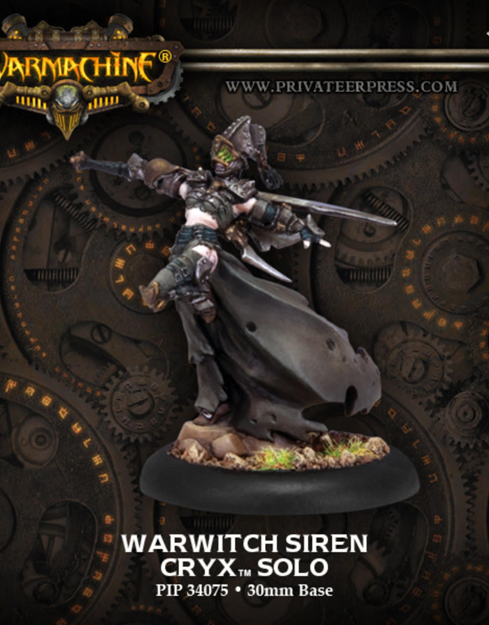 Warmachine Cryx - Warwitch Siren