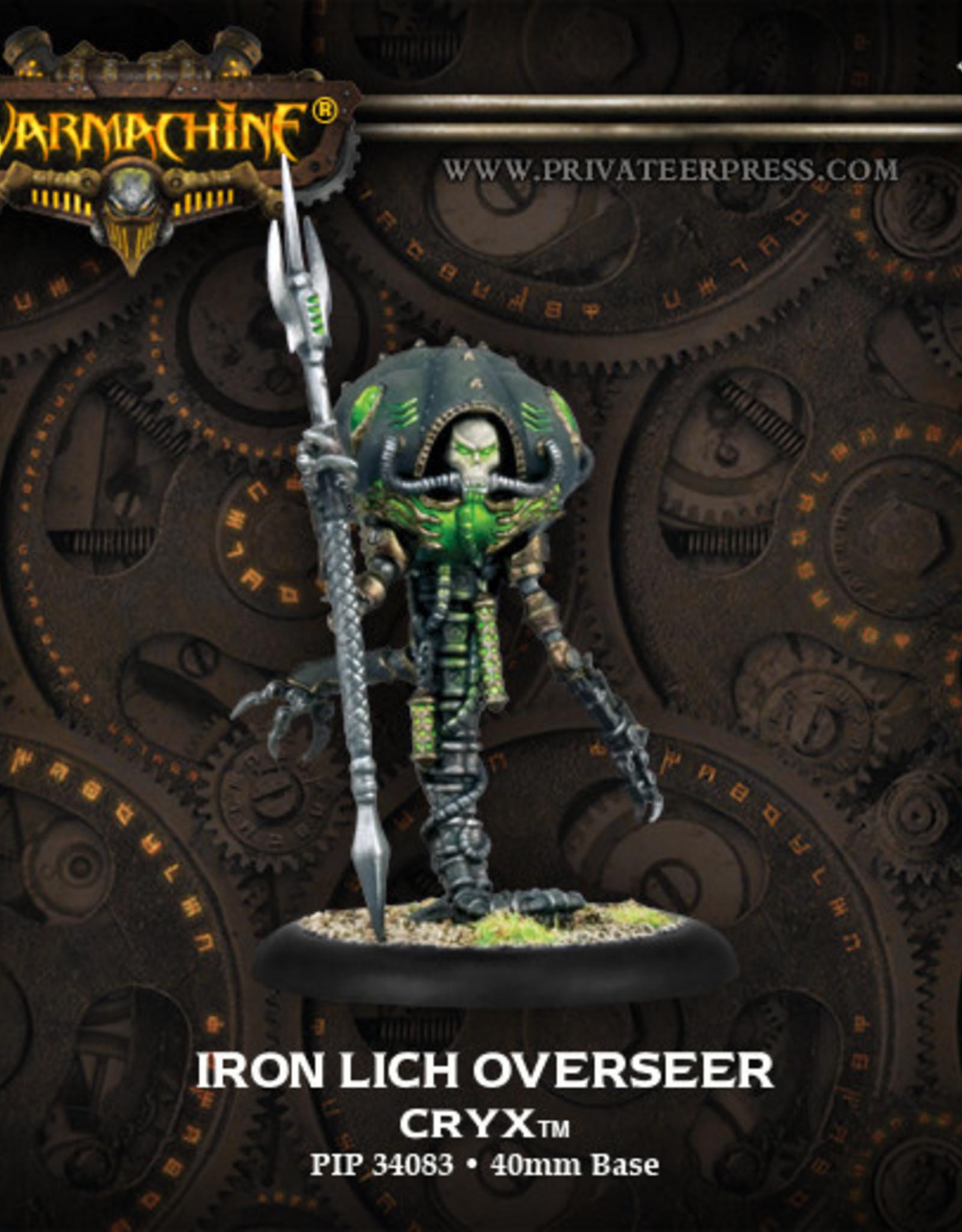 Warmachine Cryx - Iron Lich Overseer
