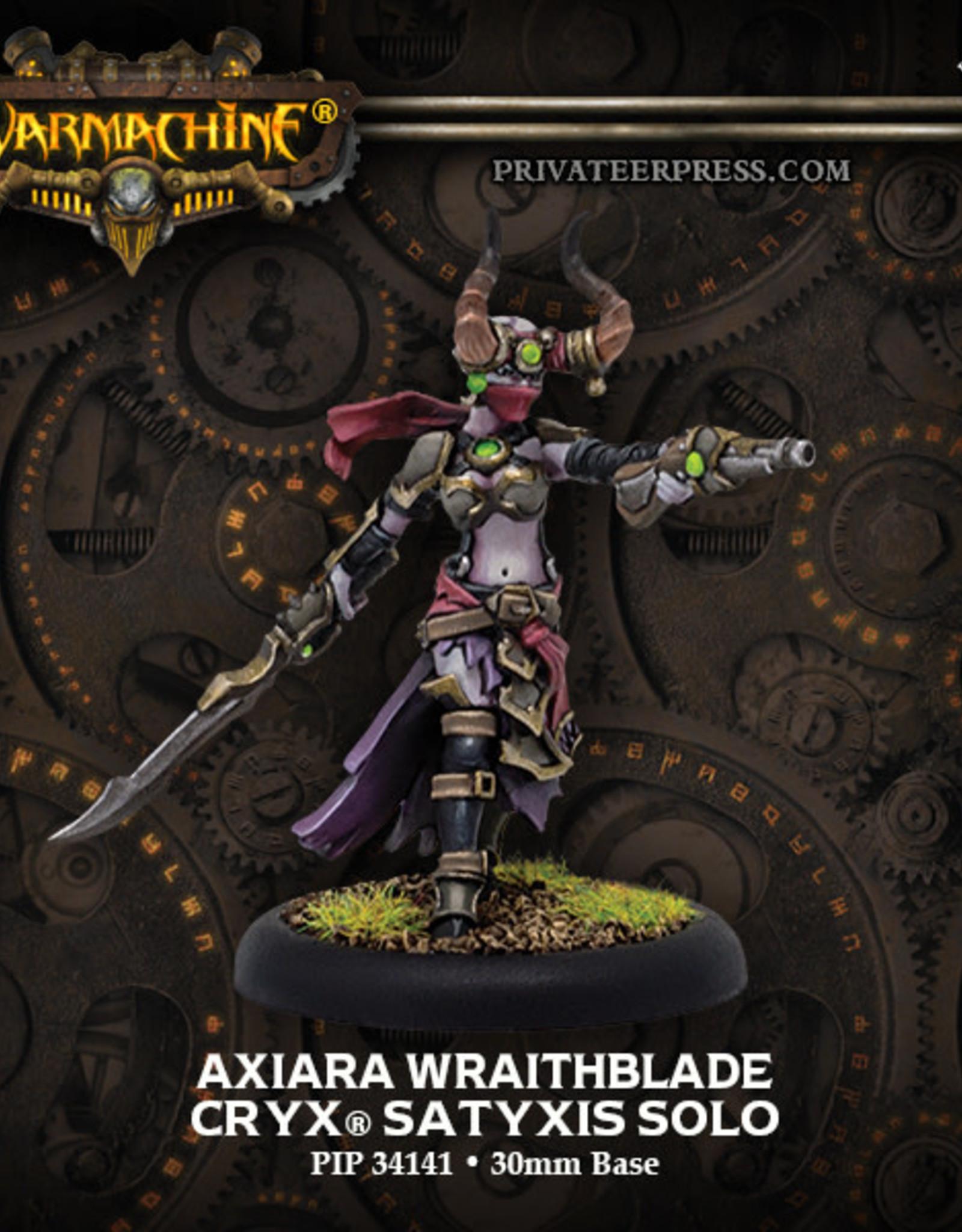 Warmachine Cryx - Axiara Wraithblade