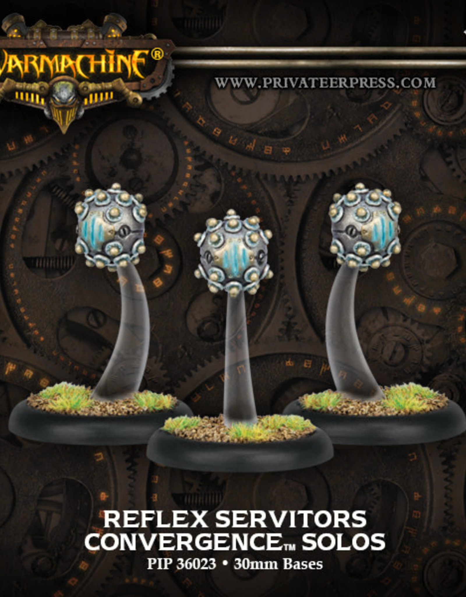 Warmachine Cyriss - Reflex Servitors