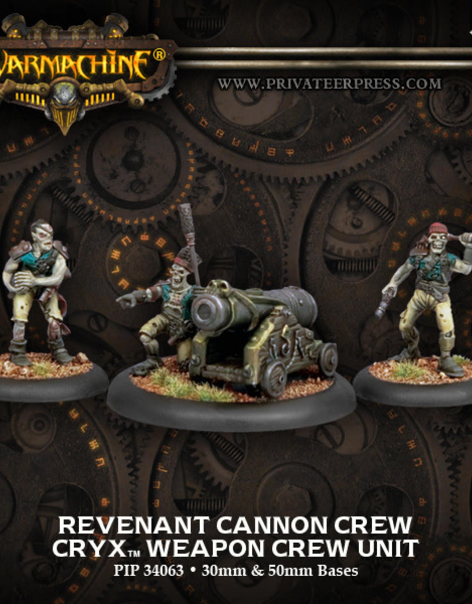 Warmachine Cryx - Revenant Cannon Crew